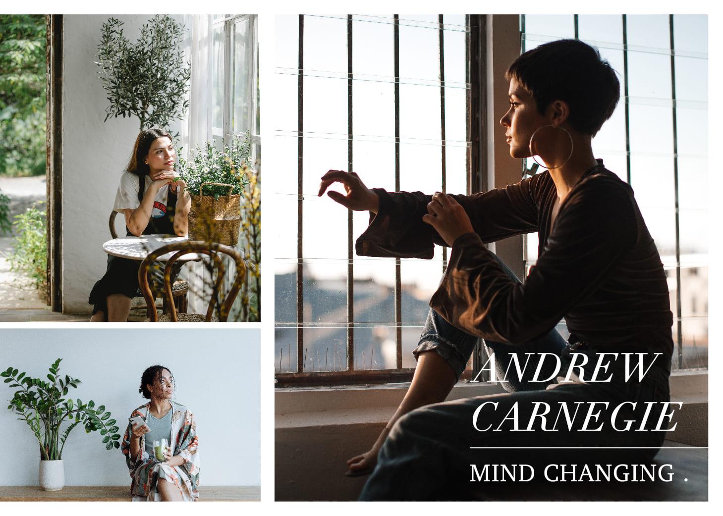 「改變,往往在一念間」卡內基的2個轉念小故事:趕不上的,都是目標Andrew Carnegie / Mind Changing