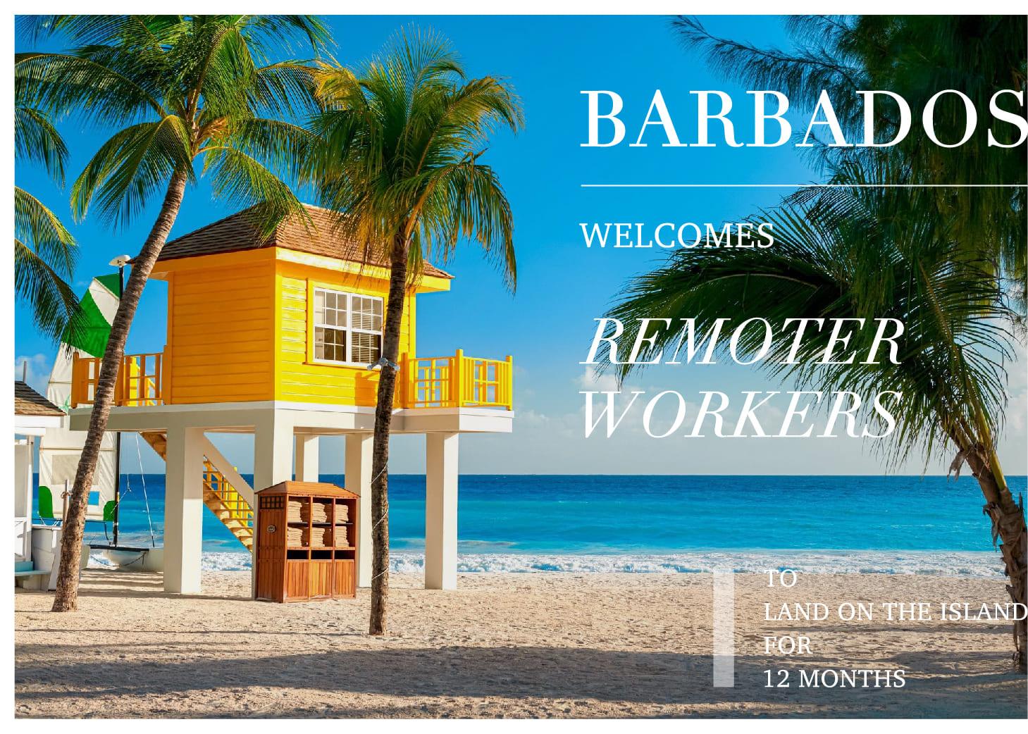 是度假還是工作?加勒比海島天堂「巴貝多 Barbados」歡迎遠距工作者來海邊打筆電