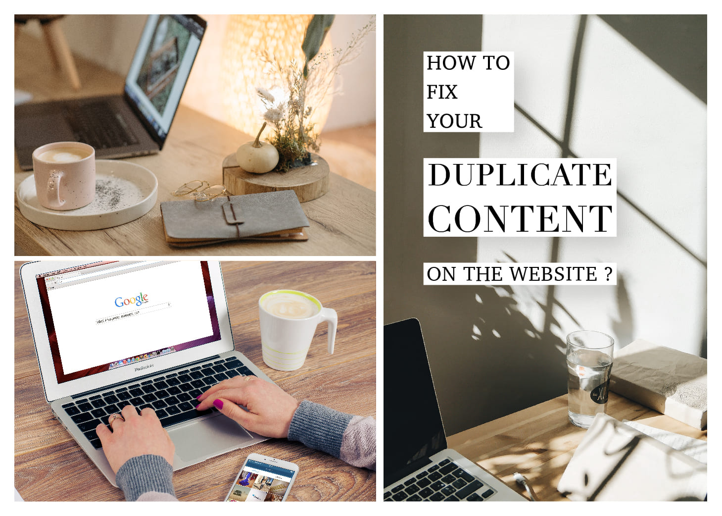 SEO 指南針|「重複內容」(Duplicate Content)大扣分!3個網站總是衝不到前面的原因 How to fix your Duplicate Content on the website?