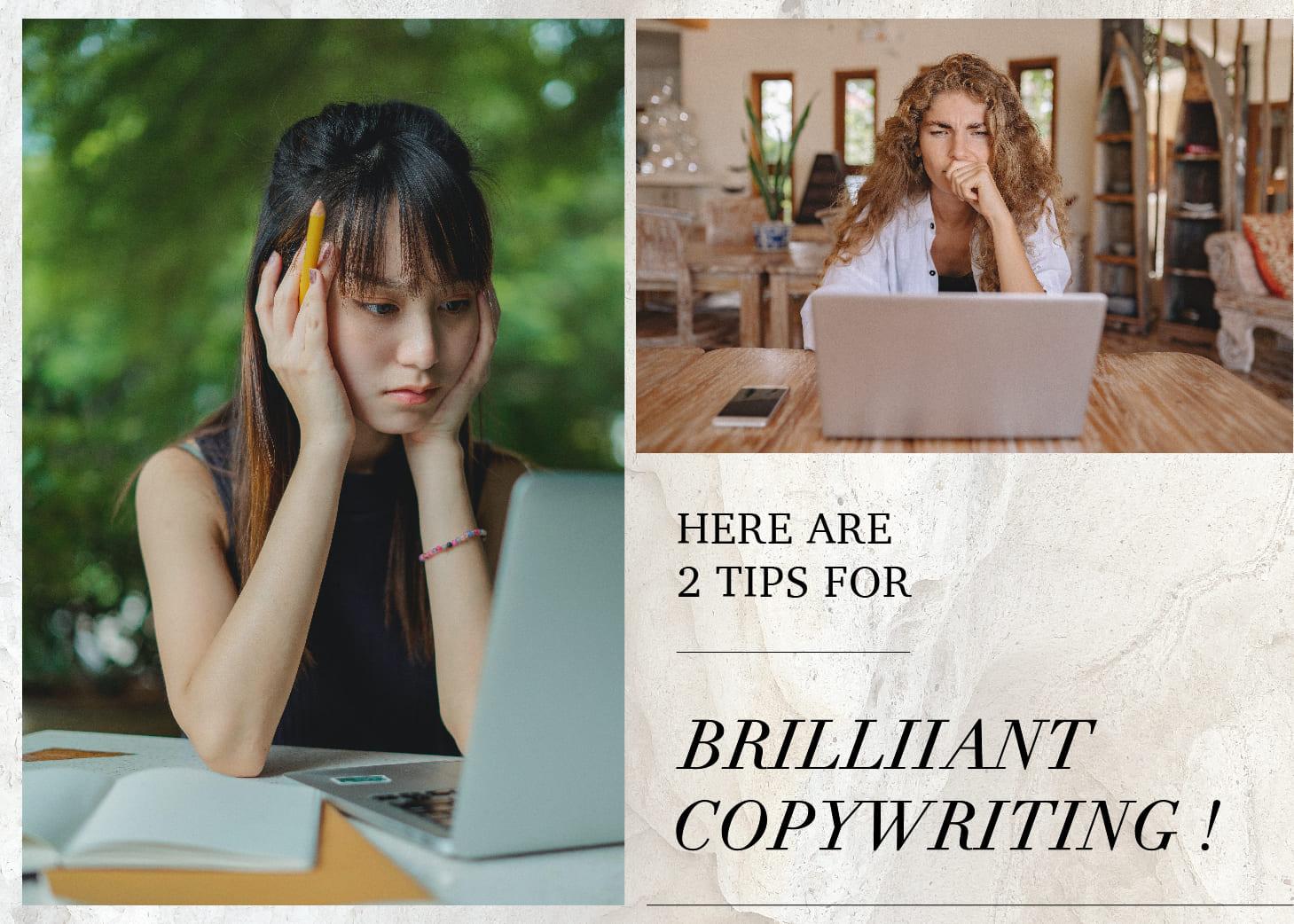 【行銷人】「文案救星」來了!新手別再苦想一整晚⋯⋯2大點輕鬆搞定! Here are 2 tips for brilliiant copywriting!